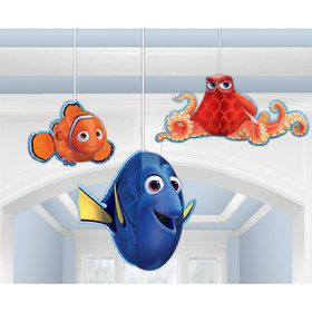 Finding Dory Honeycomb Decorations (3 Count)