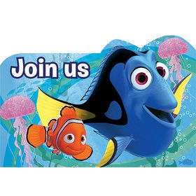 Finding Dory Postcard Invitations (8 Count)