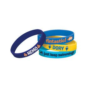 Finding Dory Rubber Bracelet Favors (4 Count)