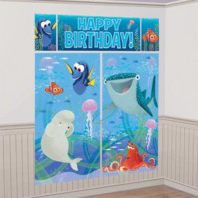 Finding Dory Scene Setter Wall Decorating Kit