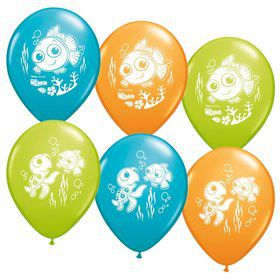 "Finding Nemo 12"" Latex Balloons (6 Pack)"