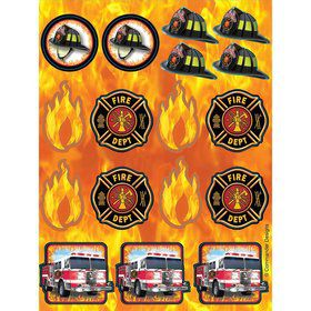 Fire Watch Foil Stickers (2 Sheets)