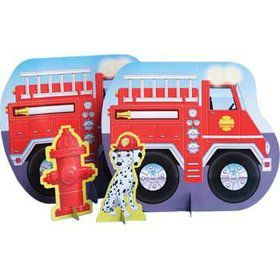 Firefighter Centerpiece (each)