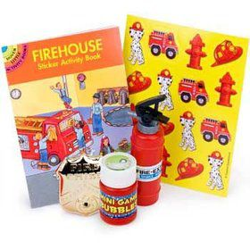 Firefighter Favor Kit (for 1 Guest)