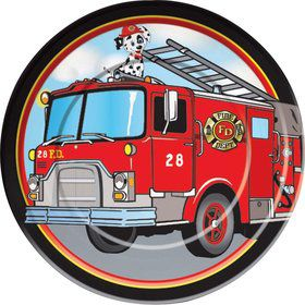 Firefighter Luncheon Plates (8 Pack)