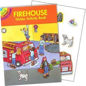 Firefighter Sticker Book (each)