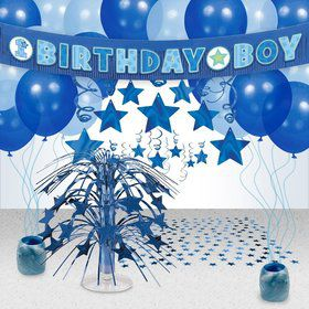 First Birthday All Star Party Decoration Kit