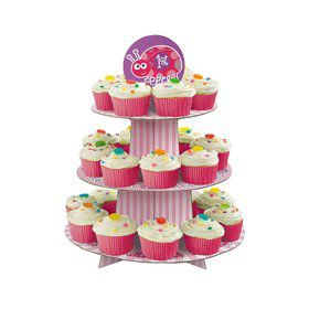 First Birthday Ladybug Cupcake Stand (each)