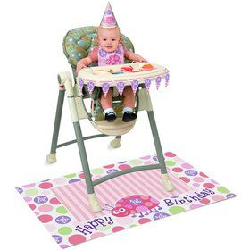 First Birthday Ladybug High Chair Kit (Each)