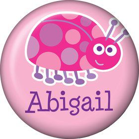 First Birthday Ladybug Personalized Mini Magnet (each)