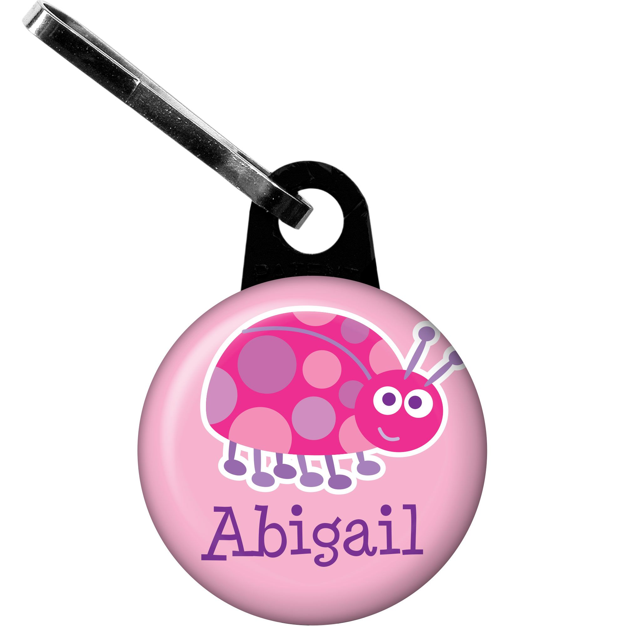 First Birthday Ladybug Personalized Zipper Pull (Each) BB101666