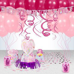 First Birthday Princess Party Decoration Kit