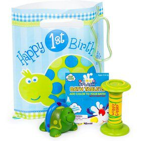 First Birthday Turtle Favor Kit
