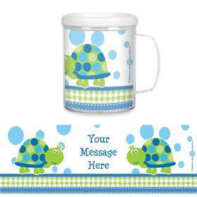First Birthday Turtle Personalized Favor Mugs (Each)