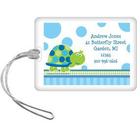 First Birthday Turtle Personalized Luggage Tag (each)