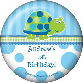 First Birthday Turtle Personalized Magnet (each)