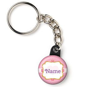 "First Princess Personalized 1"" Mini Key Chain (Each)"