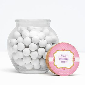 """First Princess Personalized 3"""" Glass Sphere Jars (Set of 12)"""