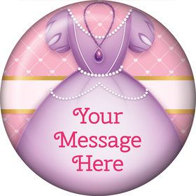 First Princess Personalized Button (Each)