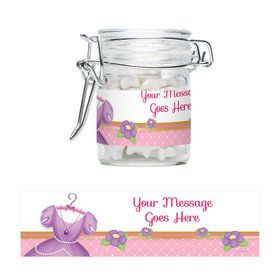 First Princess Personalized Glass Apothecary Jars (10 Count)