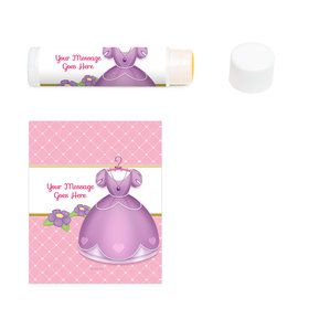 First Princess Personalized Lip Balm (12 Pack)