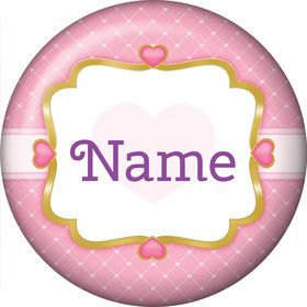 First Princess Personalized Mini Button (Each)