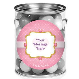 First Princess Personalized Mini Paint Cans (12 Count)