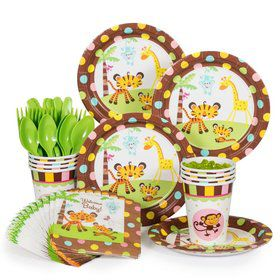 Fisher Price Baby Birthday Party Standard Tableware Kit Serves 8