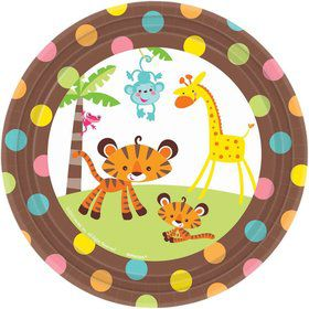 Fisher Price Baby Cake Plates (8 Pack)