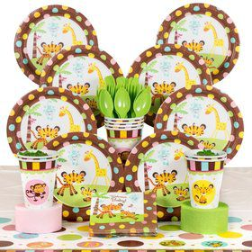 Fisher Price Baby Party Deluxe Tableware Kit Serves 8