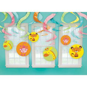 Fisher Price Baby Shower Swirl Decorations (Each)