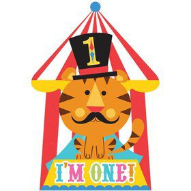 Fisher Price Circus Invitations (8 Pack)