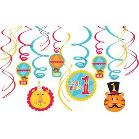 Fisher Price Circus Swirl Decorating Value Pack (each)