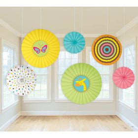 Fisher Price Fan Decorations (6 Count)