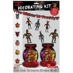 Five Nights at Freddy's Decoration Kit (10)
