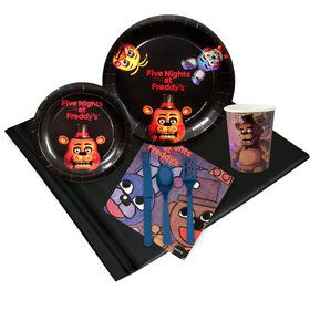 Five Nights at Freddy's Deluxe Tableware Kit (Serves 8)
