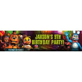 Five Nights at Freddy's Personalized Banner (Each)