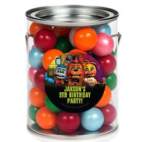 Five Nights at Freddy's Personalized Paint Cans (6 Pack)