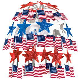 Flag Cascade Centerpiece (Each)