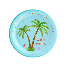 Flamingo Cheer Dessert Plate (8)