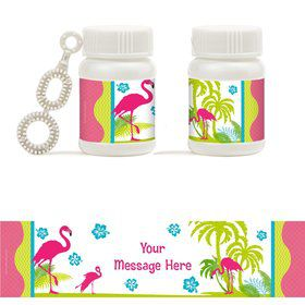 Flamingo Personalized Bubbles (18 Pack)