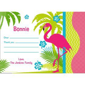 Flamingo Personalized Thank You (Each)