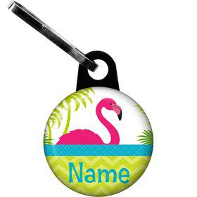 Flamingo Personalized Zipper Pull (Each)