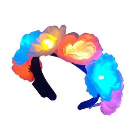Flashing Flower Headband (1)