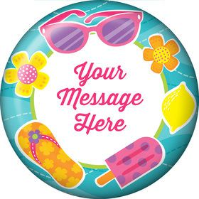 Flip Flop Fun Personalized Magnet (Each)