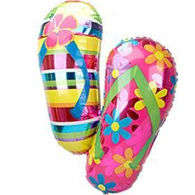 Flip Flop Mylar Balloon (each)
