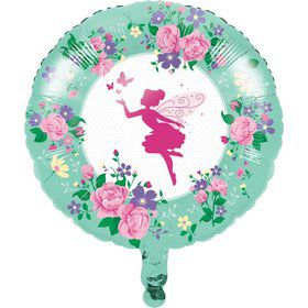 "Floral Fairy 18"" Foil Balloon (1)"