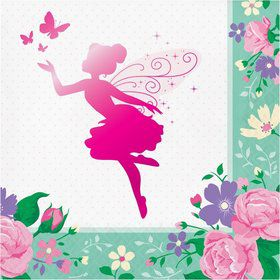 Floral Fairy Lunch Napkin (16)