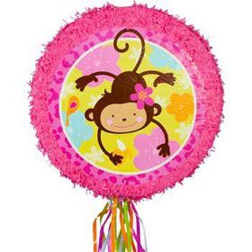 Floral Monkey Pinata (each)