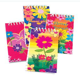 Flower Notebooks (12-pack)